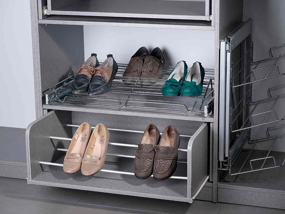 ארון נעליים 2 מדפים